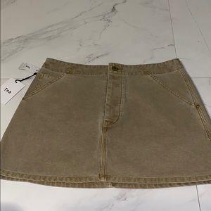 TNA Khaki Skirt